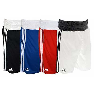 Adidas Base Boxing Shorts Lightweight - Blue Black Red