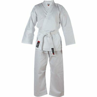 Blitz Kids White Student Karate Suit GI Childrens + Free Belt & Tracked Delivery