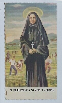 26453 Holy card - Santino 0262 - san francesca saverio - cm. 11.5 x 6.5