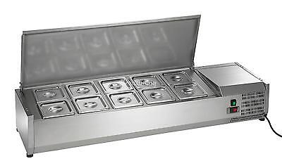 NEW Arctic Air 55in Refrigerated Counter-Top Prep Unit - ACP55