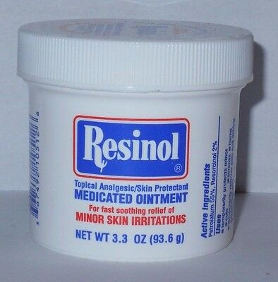Resinol Medicated Ointment Topical Analgesic 3.3oz -FREE WORLDWIDE SHIPPING-