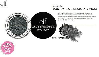 e.l.f. studio LONG LASTING LUSTROUS EYESHADOW #81147 PARTY elf  GLOBAL SHIPPING