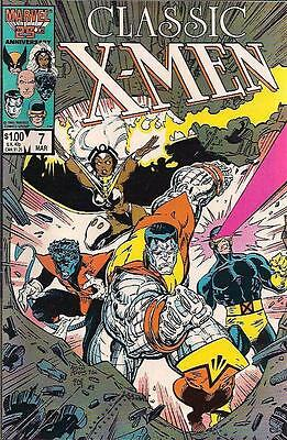 Classic X-Men #7 (1987) 1st Print MINT Marvel Comics