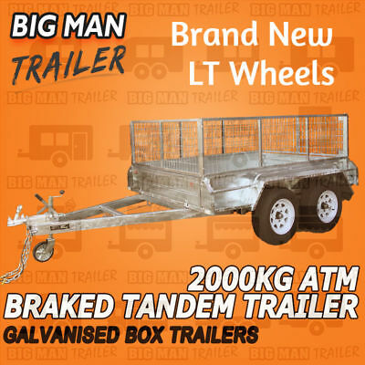 10x5 TANDEM TRAILER FULLY WELDED HEAVY DUTY ENTRY MODEL ATM 2000KG