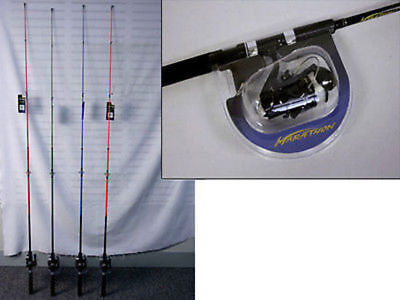 10 x Fishing Rod & Reel Spin Combo 1.8m Fathers Day bulk wholesale lot