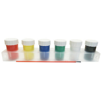 5 x Acrylic Paint 6x20ml 6 Basic Colors Non-toxic Good Kids Paint Clearance Sale