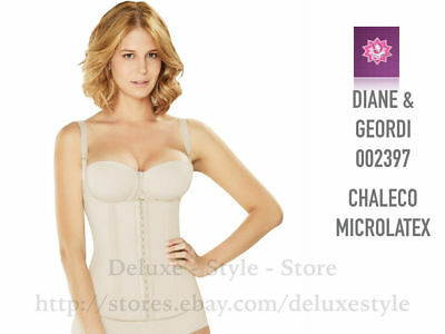 Diane-00239 Microlatex Shaper Vest Faja Colombiana Para Mujer Reduce Inches. New