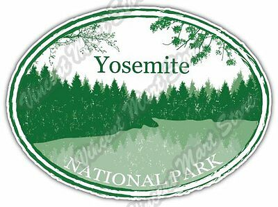"Yosemite National Park California Car Bumper Window Vinyl Sticker Decal 6""X4"""