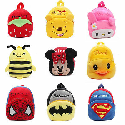 73740ce21b2f Baby Boy Girl School Bags Cartoon Batman Bag Backpack Shoulder Schoolbag  Gift
