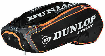 Dunlop Performance 12 Racketbag black/red Thermobag
