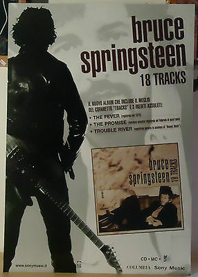 "Bruce Springsteen : Cartonato Pubb. ""18 Tracks""  1999"