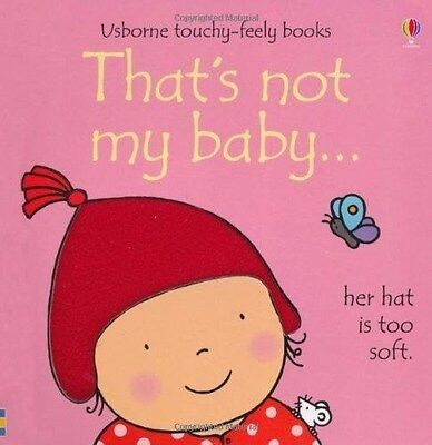 That's Not My Baby... Girl by Fiona Watt (Touchy-feely Board Book) New