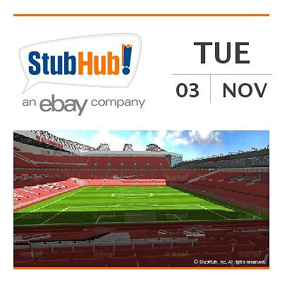 Manchester United v CSKA Moscow Tickets - Manchester