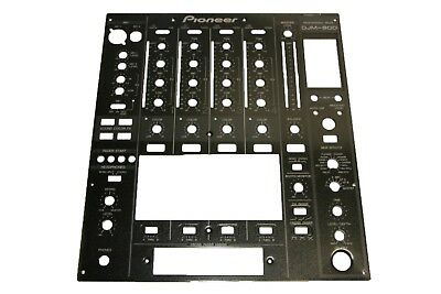 Pioneer DJM-800 Black Front Face Plate DNB1144