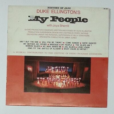 36633 LP 33 giri - Duke Ellington - My people - Joker 1972