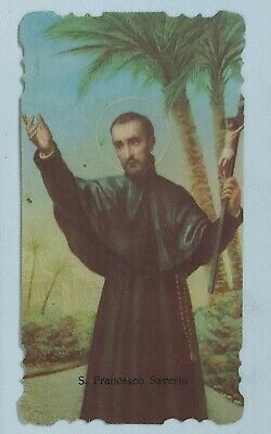 38109 Holy card - Santino 0866 - S.Francesco Saverio