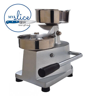 Linkrich 130mm Commercial Manual Hamburger Patty Machine - Butcher, Chef, Deli.