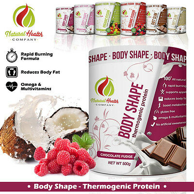 Body Shape Natural Fat Burning Protein (Chocolate Fudge) Natural Health Company