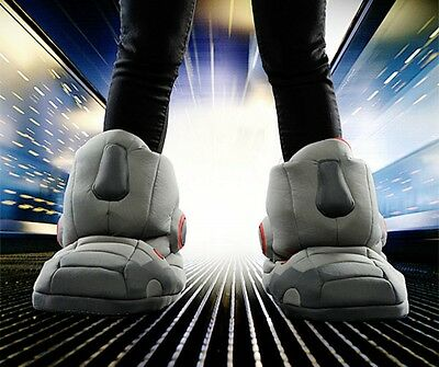 Do the Robot ! Comfortably Giant Robot Slippers with Sound Warm Indoor Slippers