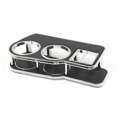 Universal Stick-on Auto Car Truck Dual Hole Drink Bottle Can Cup Holder Stand