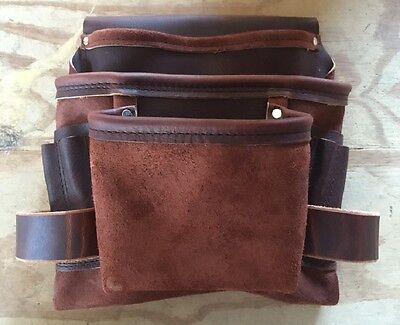 Amish Handmade LEATHER TOOL BELT Utility Pouch ~ Heavy Duty Made in USA