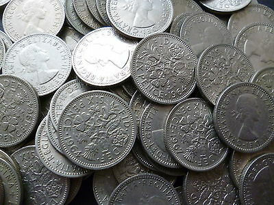 Sixpences Select The Amount Of Queen Elizabeth 2Nd Sixpence Coins From Menu.