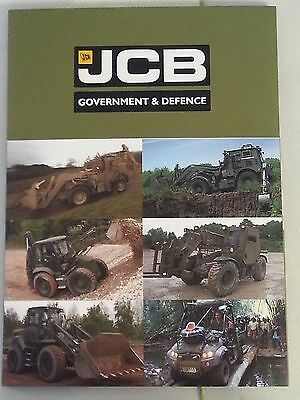 JCB Government and Defense Products Equipment Sales Brochure Package Style 2