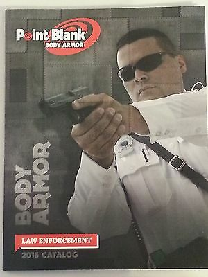 Point Blank Body Armor Law Enforcement Catalog Booklet 2015 NEW