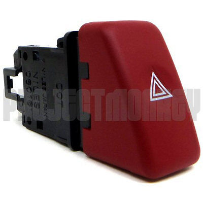 JDM Subaru 02-07 Impreza WRX STi Red Hazard Button GDA GDB GENUINE Part OEM