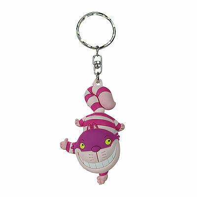 Disney Alice in Wonderland Cheshire Cat Series 3  Figural 3D Collectors Keyring