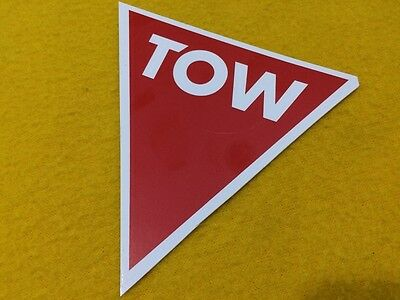 TOW POINT sticker decal label
