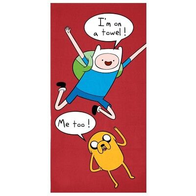 Official Licensed Adventure Time  Standard Beach Towel  (AT479A2)- SDY Stock