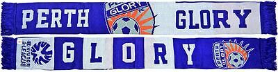 Perth Glory FC Banner Jacquard Scarf Official New A-League Sekem
