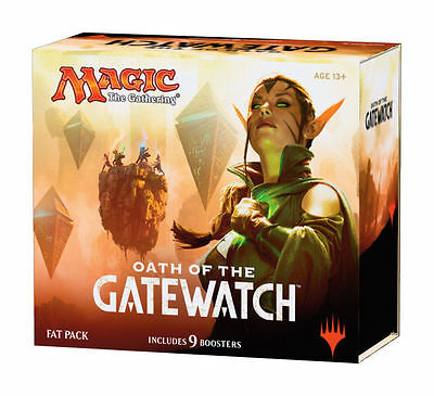Oath of the Gatewatch Fat Pack MTG Magic the Gathering 9 Booster Packs Deck Box