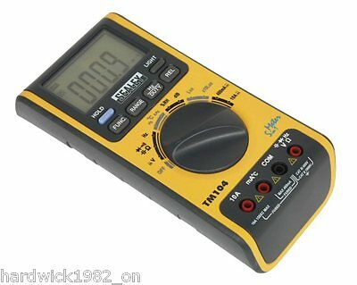 BRAND NEW! Digital Multimeter Humidity Sound Level Temperature Light AC DC