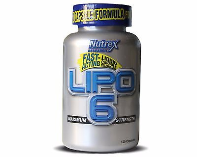 LIPO 6 NUTREX 120 Liqui-Caps Rapid Weight Loss - FOUR-TIME PRODUCT OF THE YEAR !