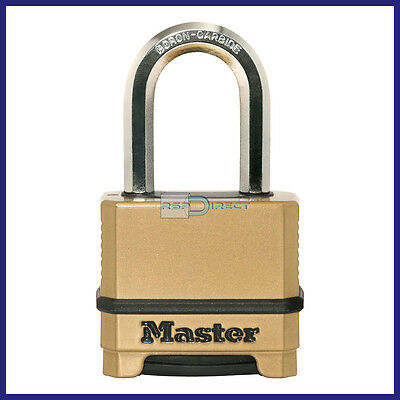 Master Lock Excell M175DLF Combination Padlock *4 Dial*