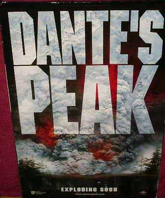 Cinema Poster: DANTE'S PEAK 1997 (One Sheet Adv.) Pierce Brosnan Linda Hamilton