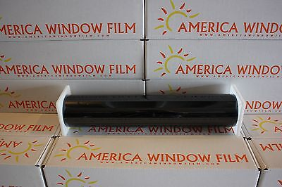 "Window Film Tint Dyed Black 20% 60"" X 100 Ft"
