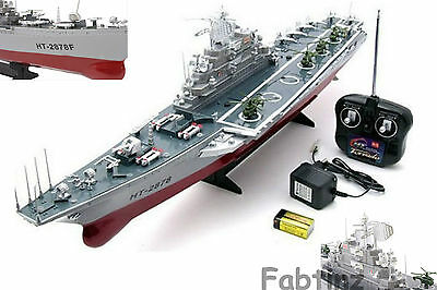Remote Control Rc Radio Navy Aircraft Carrier Boat Ship Ideal Gift Radio Control