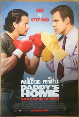 DADDY'S HOME MOVIE POSTER DS ORIGINAL Ver B 27x40 WILL FERRELL MARK WAHLBERG
