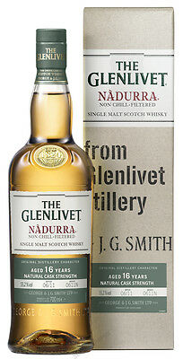 142,84€/l The Glenlivet Nadurra Natural Cask Strength 16 Jahre Whisky