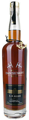 71,41€/l A.H. Riise Royal Danish Navy Rum in  GB 40% 0,7 l von St. Thomas Insel