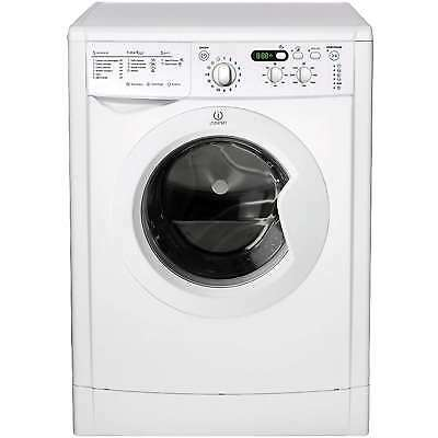 Indesit IWDD7143 A 7Kg 1400 Spin 16 Programmes Washer Dryer in White New