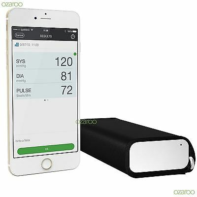 Qardio Arm Wireless Modern Blood Pressure Monitor for iPhone iOS & Android White