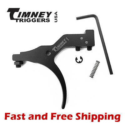Timney Adjustable Trigger w/Safety 1.5-4lb w/Hardware for Savage Edge/Axis #633