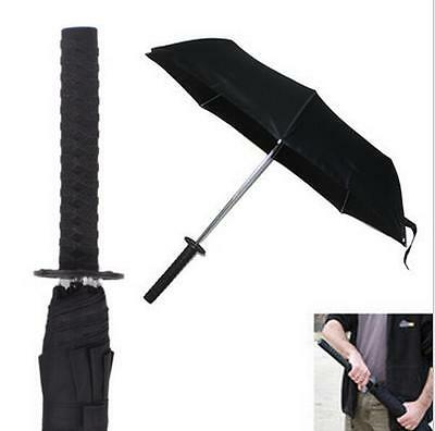 Samurai Sword Handle Umbrella Katana Umbrella Cos Props Warrior Folding Umbrella