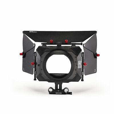 Proaim Matte Box Sunshade with Flags for 15mm Rail Rod Support Shoulder rig