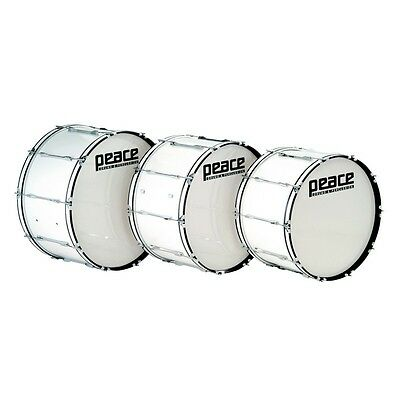 PEACE MD-2814AL CADET series Marching Bass Drum  28'' x 14''