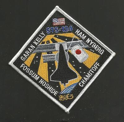 Shuttle Discovery Sts-124    Space  Patch  4  ""